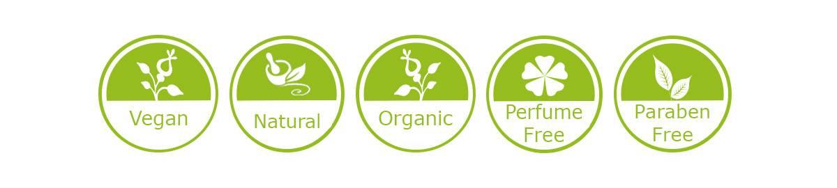 Organic, natural skincare